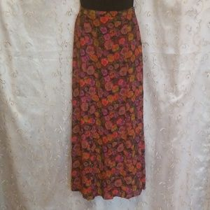 VINTAGE LAURA ASHLEY FLORAL PRINT LONG SKIRT